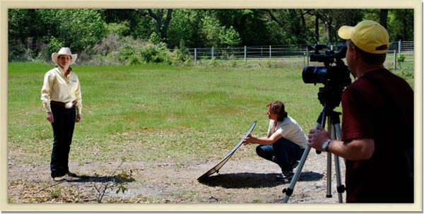 Horse Expert Julie Goodnight Films 6 episodes of Horsemaster on Camelot Farms